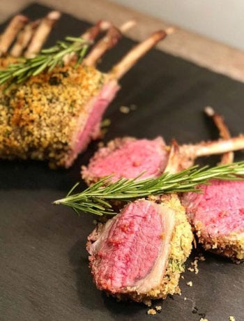 Sous Vide Herb Crusted Rack of Lamb