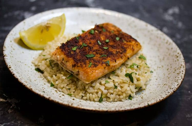Sous VIde Cajun Blackened Salmon - Sous Vide Ways