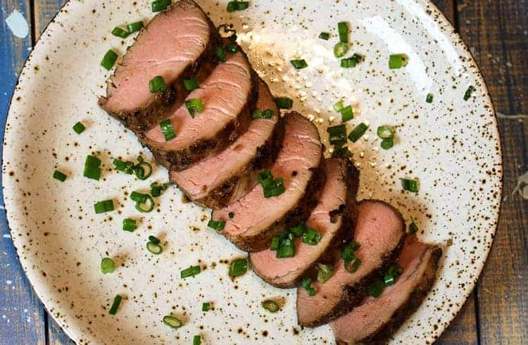 Sous Vide Marinated Pork Tenderloin