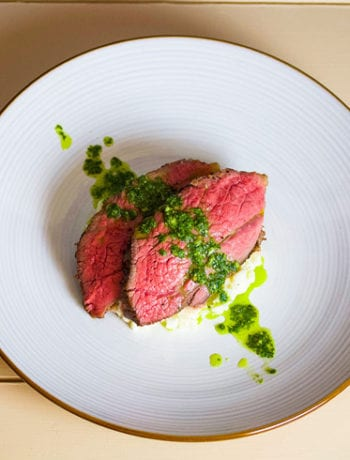 sous vide tri tip with chimichurri - Sous Vide Ways