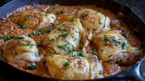 Incredible Sous Vide Chicken Paprikash